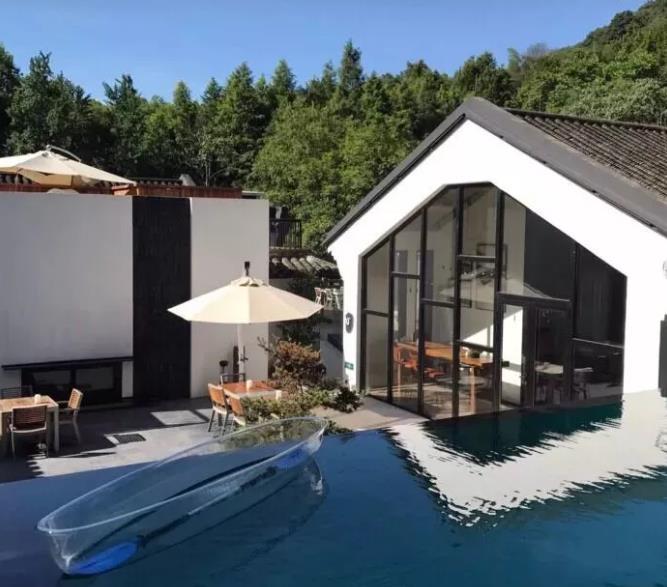 杭州民宿-溪中溪度假酒店:西湖风景区九溪溪中溪度假